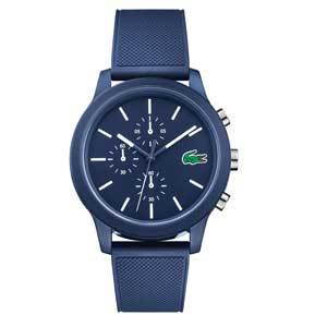 Men's Watches Under $200 Lacoste Men's 12.12 Chronograph Silicone Band Watch photo