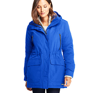 Women's snowboarding jacket from Lands' End photo