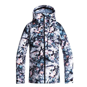 Roxy snow jacket with floral print photo