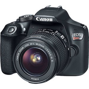 Best Camera for Kids Canon EOS Rebel DSLR Camera photo