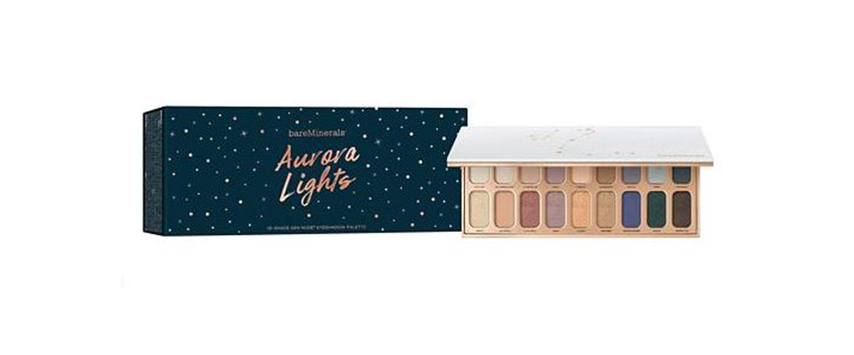 Holiday eyeshadow palette by BareMinerals with 18 shades. photo