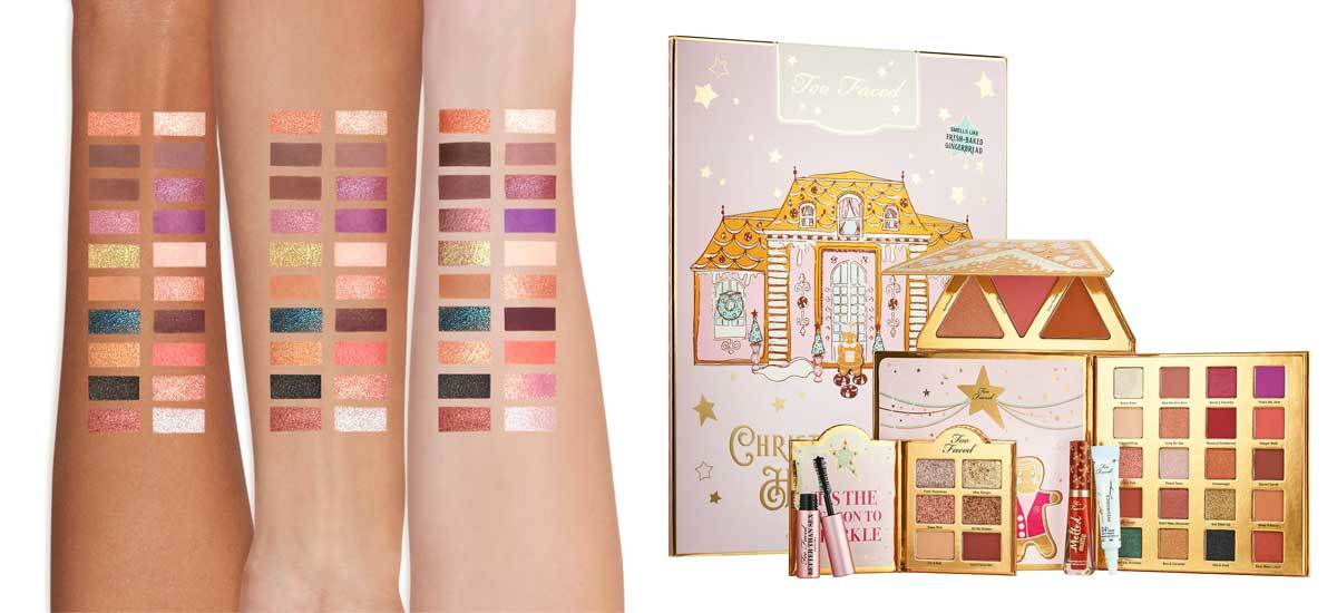 Gingerbread Too Faced Eyeshadow Palette photo