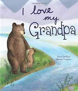 Book with bears on it titled I Love My Grandpa from Amazon photo