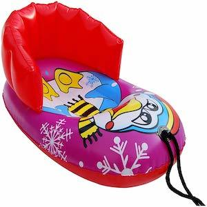 Best Snow Sleds For Kids Uncle Bob's Kiddie Seal and Penguin Pull Snow Sled photo