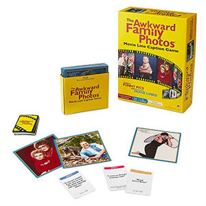 Awkward Family Photos game from UncommonGoods photo