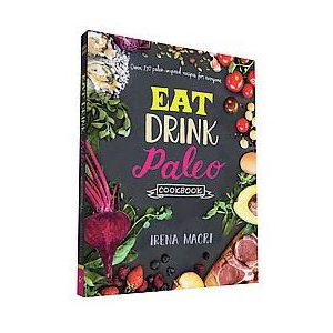 Cookbook with recipes that follow a paleo diet photo