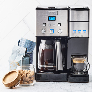 Cuisinart stainless steel coffee maker from Macy's photo