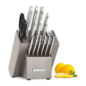 KitchenAid stainless steel cutlery set from Macy's photo
