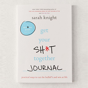 Urban Outfitters self-care journal by Sarah Knight photo