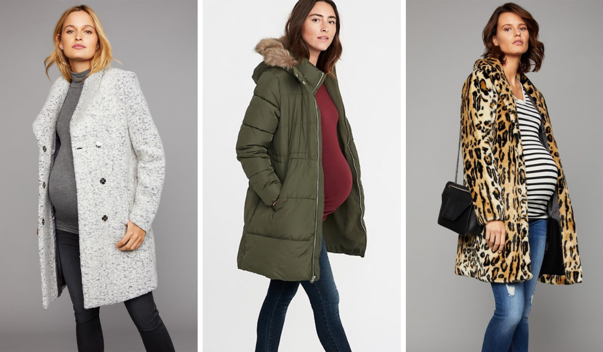 Stylish Maternity Coats to Keep You and Baby Warm in Any Weather