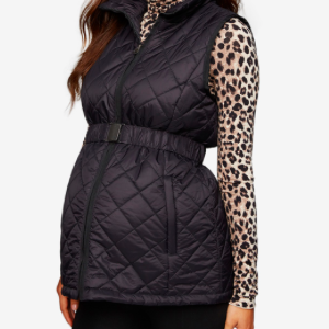 Quilted Puffer Maternity Vest Macy's photo