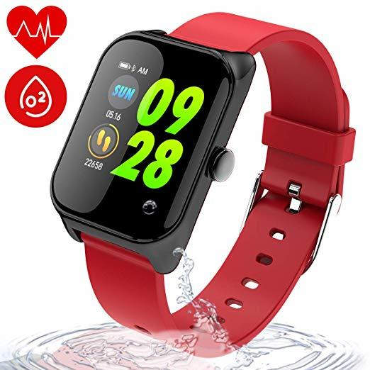 Best Fitness Trackers for Pregnant Moms Wonlex Fitness Tracker IP67 Waterproof for Swimming, SmartWatch photo