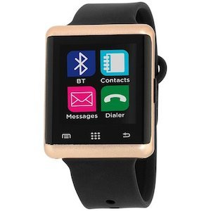 Best Fitness Trackers for Pregnant Moms iTouch Air 2 Heart Rate Black Smart Watch photo