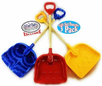 Best Winter Snow Day Outdoor Activities Matty's Toy Stop Heavy Duty Wooden Snow Shovels photo