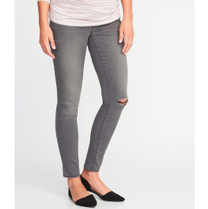 Where to Buy Maternity Clothes Old Navy Maternity Rockstar Skinny Jeans photo