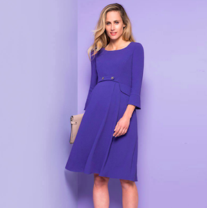 Where to Buy Maternity Clothes Seraphine Kate Middleton Blue Dress photo