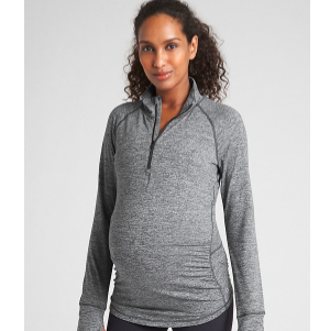 Where to Buy Maternity Clothes Gap GapFit Maternity Workout Jacket photo