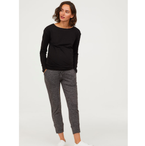 Where to Buy Maternity Clothes H&M MAMA Joggers photo