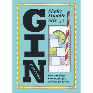 Gin recipe book with an illustration of a cocktail photo