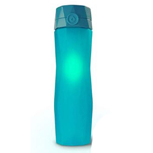Blue Hidrate Spark 2.0 water bottle with smart technology photo