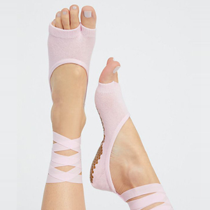 Free People grip sock for yoga photo