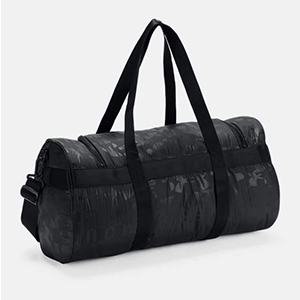 Black Under Armour duffle bag for yoga photo