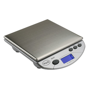 Metal scale for produce. photo