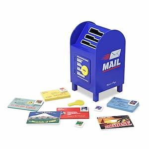 Best Montessori Toys for 3 Year Old Kids Melissa & Doug Stamp and Sort Wooden Mailbox photo
