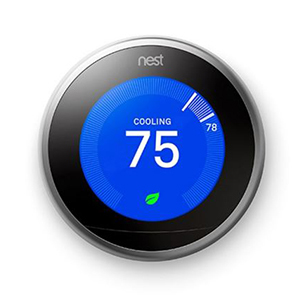 Nest smart home thermostat, third generation photo