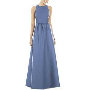 Mother of the Bride Dresses Under $250 Alfred Sung Sateen Gown photo