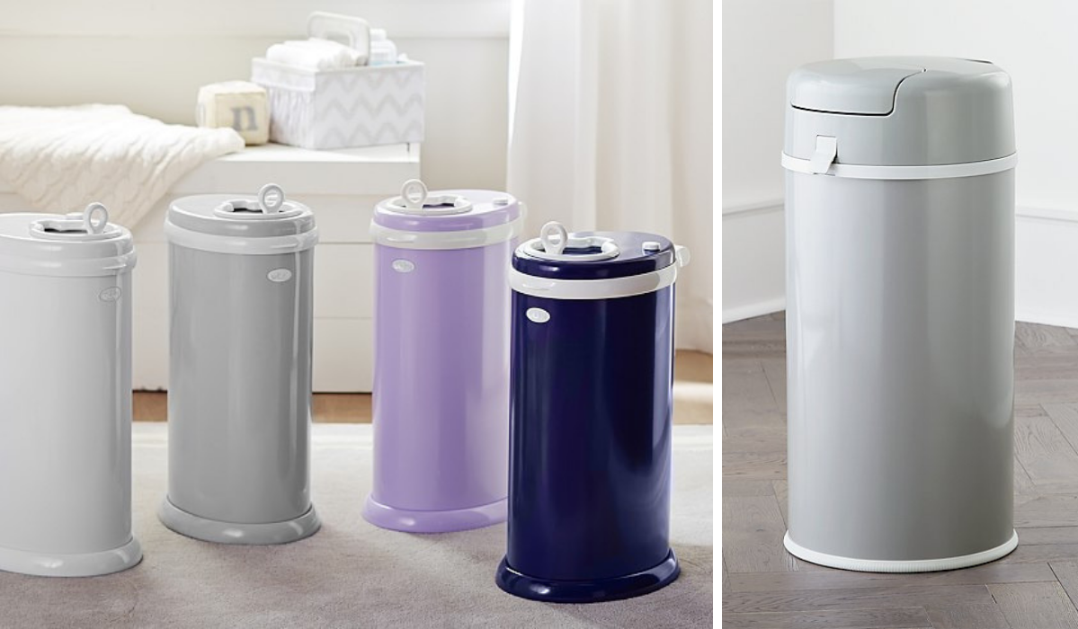 10 Sleek and Simple Diaper Pails That Make Diaper Duty a Little Bit Easier