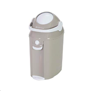 Best Diaper Pail with Handle Baby Trend Diaper Deluxe photo