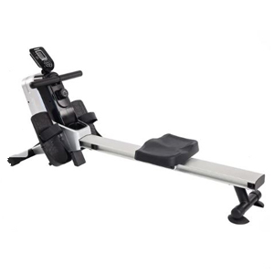 Rowing machine with a small digital screen photo