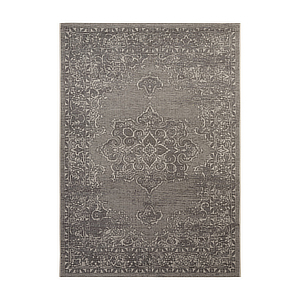 Contemporary are rug with velvet woven texture. photo