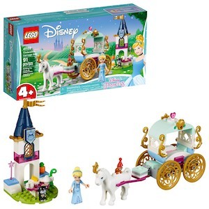 colorful LEGO Disney Cinderella's Carriage Ride from Amazon photo