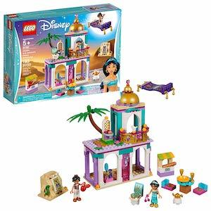 Top 2019 LEGO Launches LEGO Disney Aladdin and Jasmine's Palace Adventures Building Kit photo