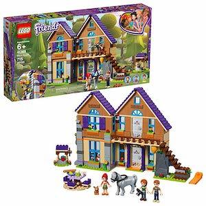 colorful LEGO Friends Mia's House Building Kit from Amazon photo