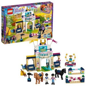 colrful LEGO Friends Stephanie's Horse Jumping from Target photo