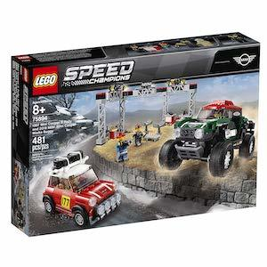 LEGO Speed Champions 1967 Mini Cooper S Rally and 2018 Mini John Cooper Works Buggy Building Set from Amazon photo