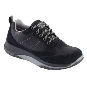 Black insulated sneakers photo
