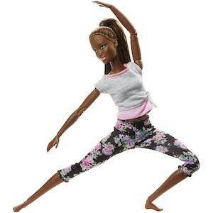 Best Barbie Dolls and Playsets Barbie Made To Move Yoga Nikki Doll photo