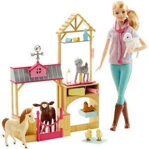 Best Barbie Dolls and Playsets Barbie Farm Vet Doll and Playset photo