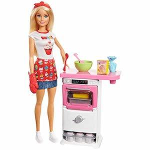 Best Barbie Dolls and Playsets Barbie Bakery Chef Doll and Playset photo