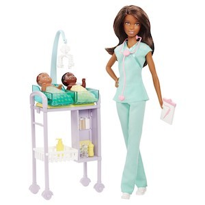 Best Barbie Dolls and Playsets Barbie Baby Doctor Doll and Playset photo