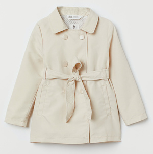 Spring Jackets for Toddlers H&M Toddler Girls Trenchcoat photo