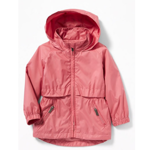 Spring Jackets for Toddlers Old Navy Water-Resistant Stowaway Hood Jacket for Toddler Girls photo