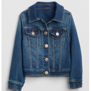Spring Jackets for Toddlers Gap Toddler Girls' Superdenim Icon Jacket photo