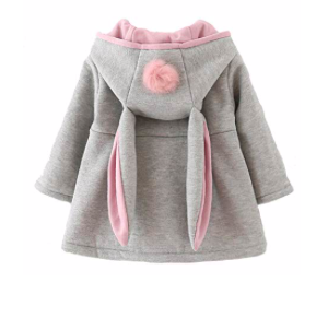 Spring Jackets for Toddlers Urtrend Toddler Girls' Bunny Ear Jacket photo