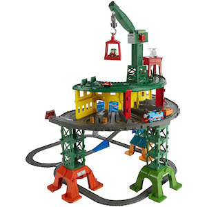 Best Train Sets for Kids Fisher-Price Thomas & Friends Super Station photo