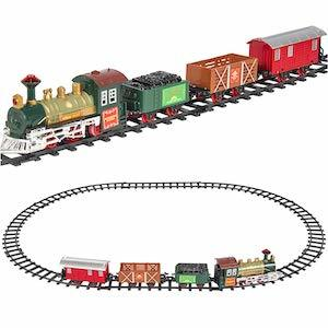 Best Train Sets for Kids Best Choice Products Kids Classic Electric Railway Set photo